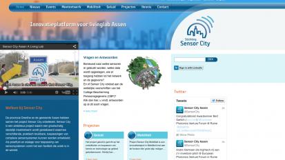 Sensor City | huisstijl, animatie en websites