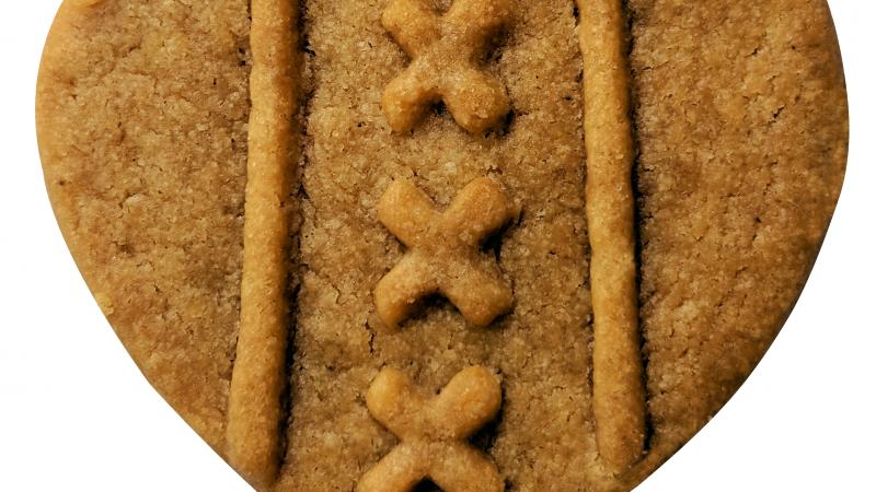 Amsterdam heeft nu een eigen koekje: het Eberhardje