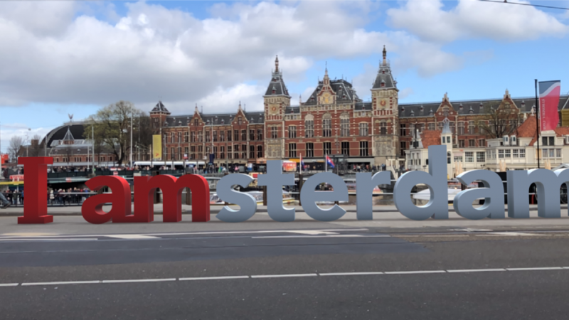 'I amsterdam'nu terug in de stad met deAmsterdam CitySign App