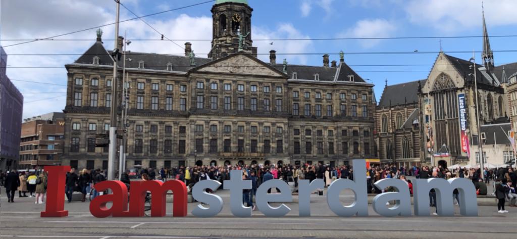 I Amsterdam terug in de stad