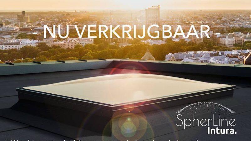 Nieuw: 's Werelds eerste platdakraam met bolvormig glas.